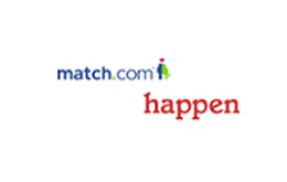 Match and Happen logo logo